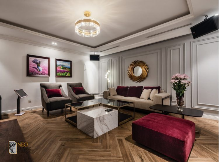 Thiết kế nội thất chung cư theo phong cách tân cổ điển
