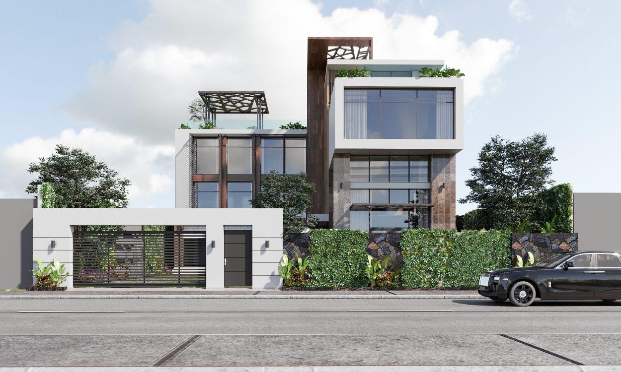 Thiết kế biệt thự phố Thảo Điền Neo Classic