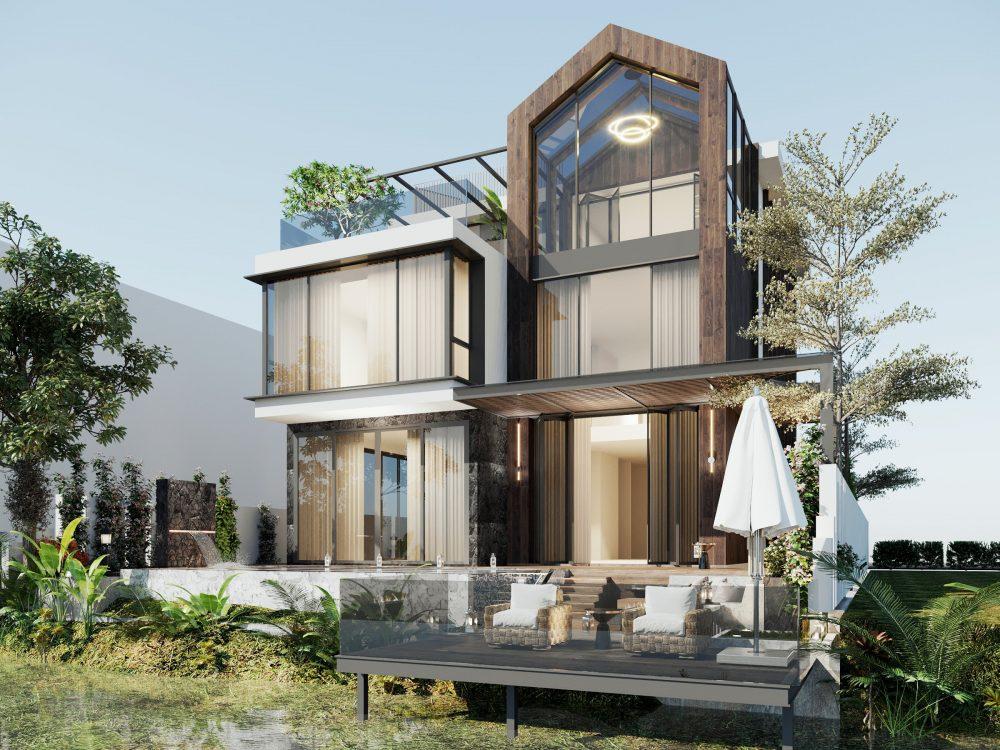 thiết kế Biệt thự Đảo Ecopark