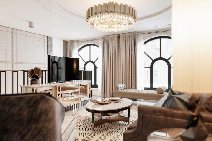Neo Classic Interior Design Living Room